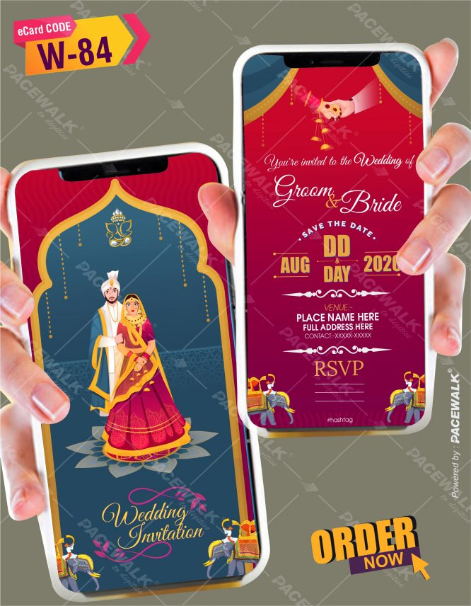 Indian Invites For Wedding