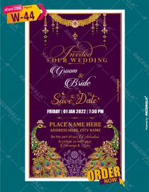 Digital Wedding Invitation ecards