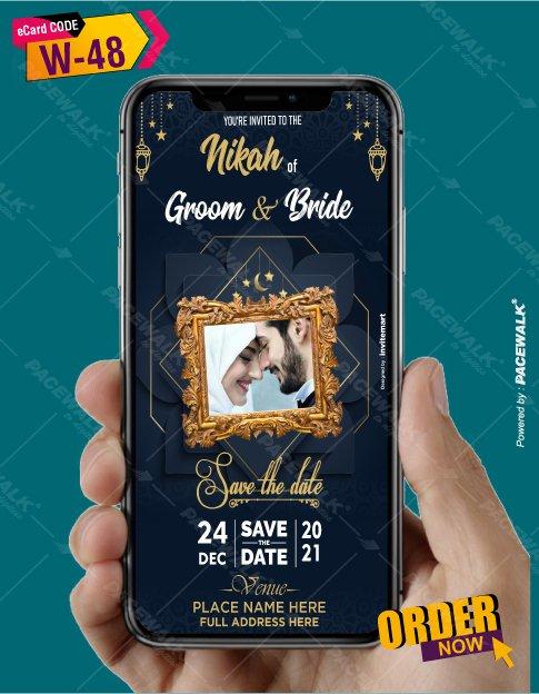 Walima Invitation eCards