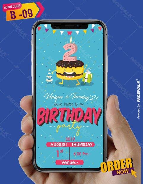 Paperless Birthday Invitations eCards