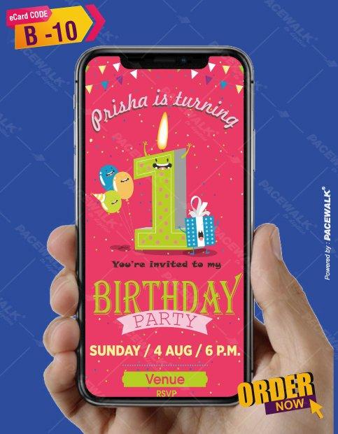 Creative Birthday Invitations eCards