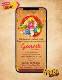 Best Ganesh Chaturthi Wishes eCards For Mobile
