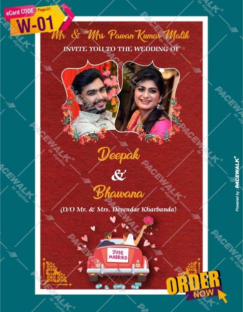 marriage invitation card maker