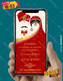 marwari wedding invitation card