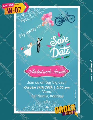 Save the date ecards maker