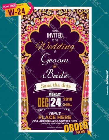 traditional wedding invitation cards online