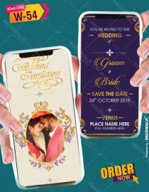 simple and elegant wedding invitation cards