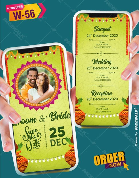 trending wedding invitation cards 2021