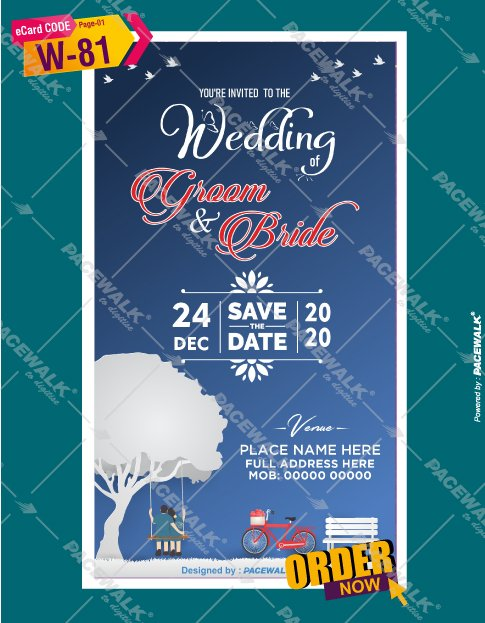 Save the date ecard maker online