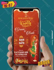 Marwari Wedding Invitation card