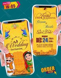 Rajasthani Wedding Card