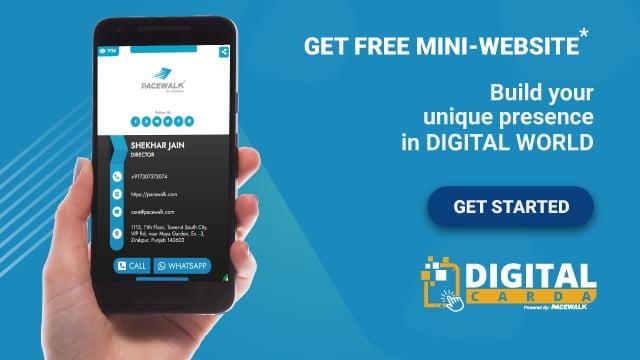 Digital Business Card | Mini Website