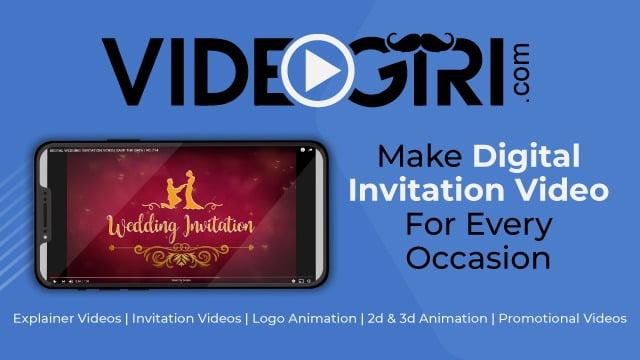 Wedding Invitation Video Maker | videogiri