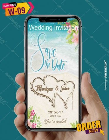 Modern Wedding Invitation eCards
