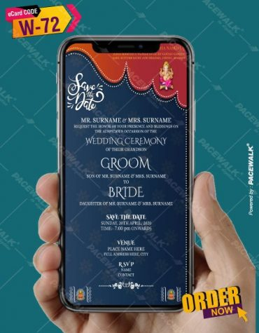 Save the date Indian Wedding Cards
