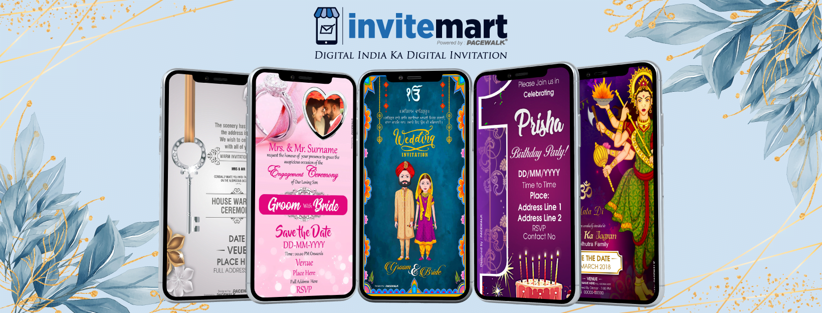 digital wedding invitation cards