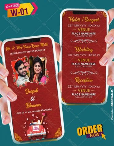 Best Indian wedding Invitation eCards