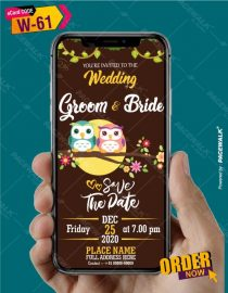 Love Bird Wedding Invitations
