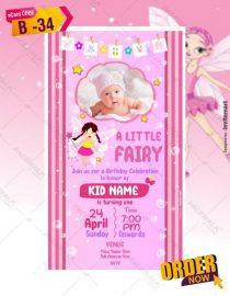 Fairy Invitations For Birthday