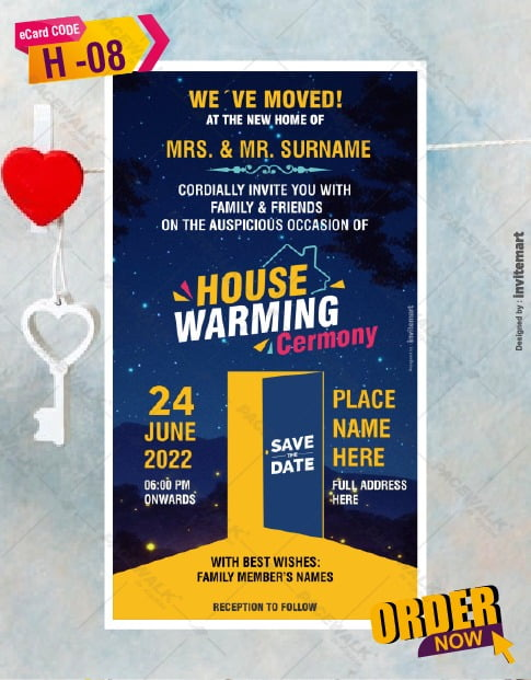 Griha Pravesh Invitation