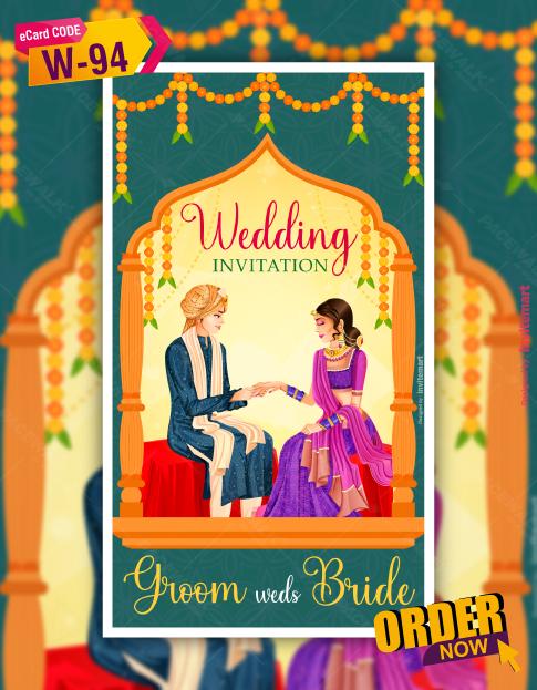 Indian wedding cards online