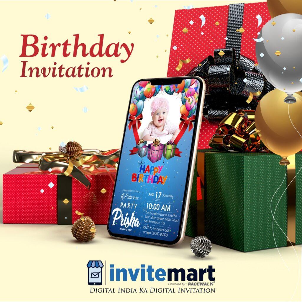 Birthday Inviation card