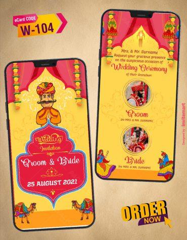 Marwari Wedding Invitation