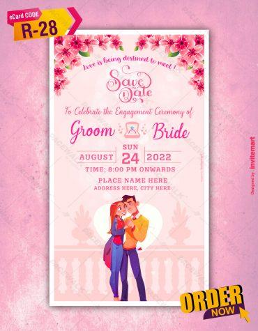 Loveable Engagement Invitation