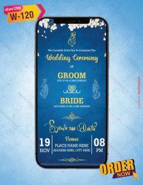 Elegant Hindu Wedding Invite