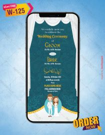 Elegant Christian Wedding Invite