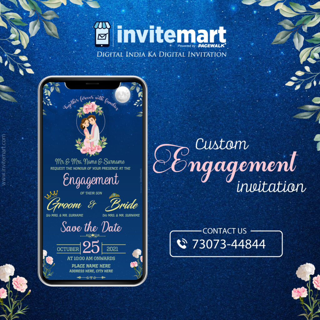 custom-engagement-invitation-card