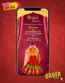 Bridal Shower Invitation Card Maker