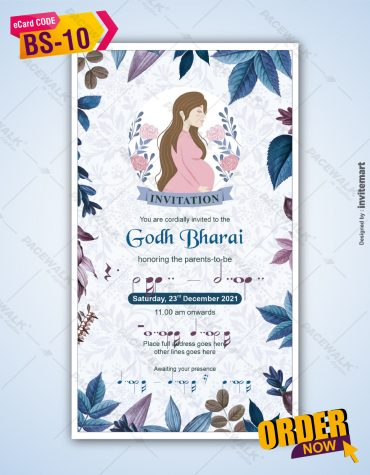 Indian Baby Shower Invitations