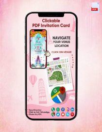 Clickable PDF Invitation Card