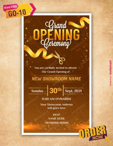 Grand Opening Invites
