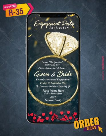 Engagement Party Invitation Card