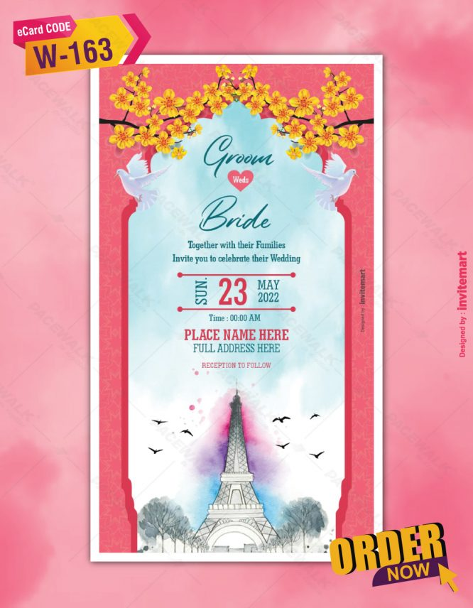 Save The Date Card Invitation