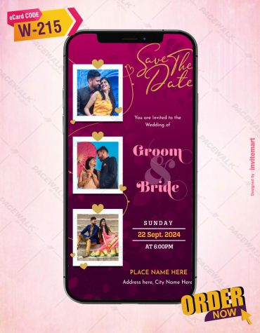 Couple Photo Save The Date Card