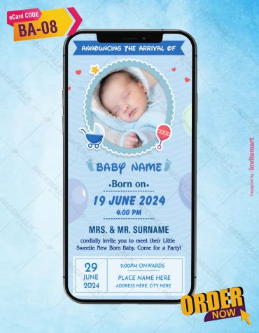 Personalized Birth Announcement Cards