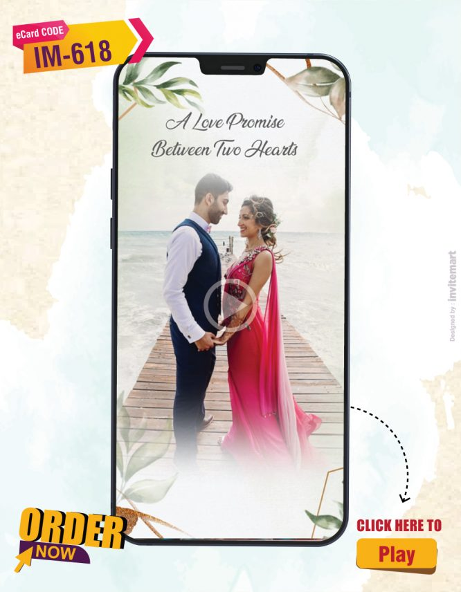 Digital Save The Date Video