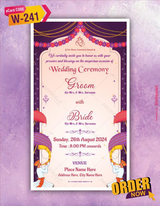 Hindu Save The Date Invitations
