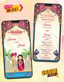 Beautiful Traditional Indian Wedding Ecard
