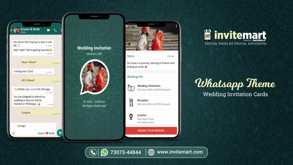 Whatsapp Theme Invitation Ecard