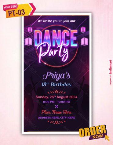 Best Dance Party Invitation Ecard