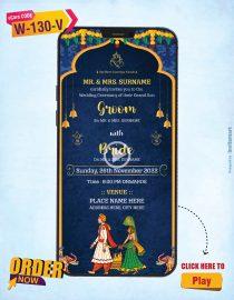 Royal Elephant Theme Wedding Invitation Video