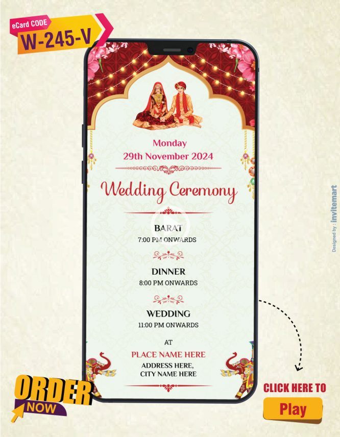 Best Online Wedding Invitation Video