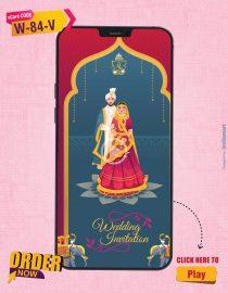 Indian Traditional Wedding Invitation Video