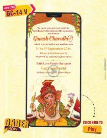 Ganesh Chaturthi Invitation Template Video