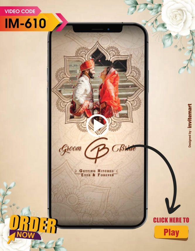 Hindu Wedding Invitation Video