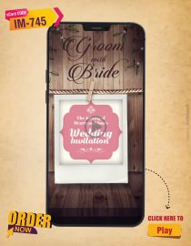 Wooden Theme Wedding Invitation Video
